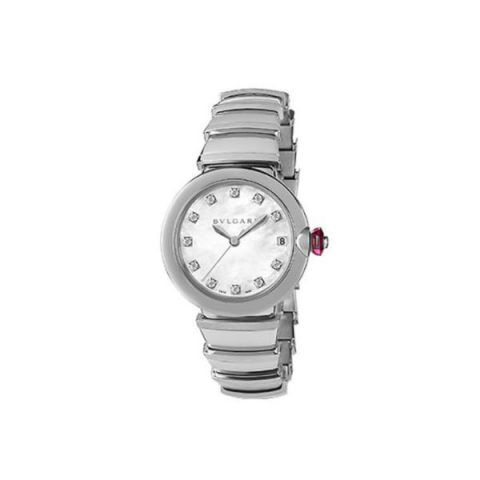 BVLGARI LVCEA STAINLESS STEEL 33MM LADIES WATCH