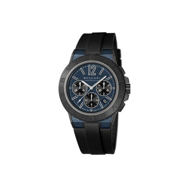 BVLGARI DIAGONO MAGNESIUM & PEEK 42MM MEN'S WATCH