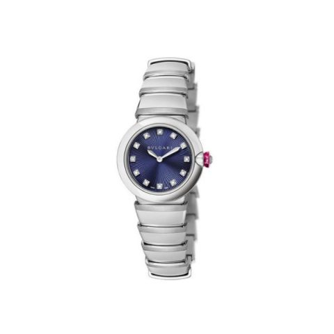 BVLGARI LVCEA STAINLESS STEEL 28MM LADIES WATCH