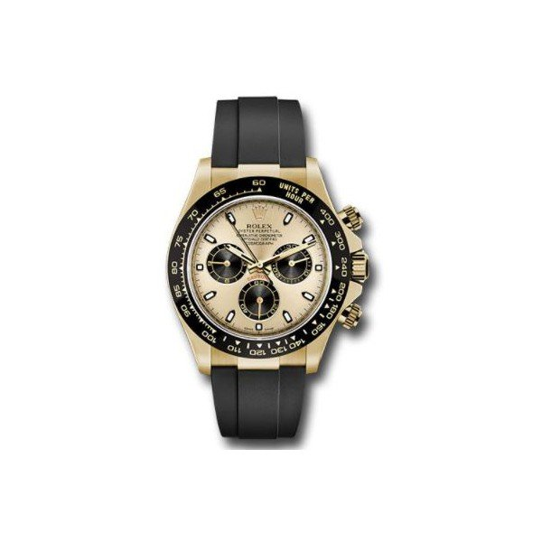 PROFESSIONAL ROLEX DAYTONA 18KT YELLOW GOLD 40MM MEN'S WATCH