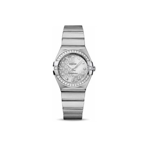 OMEGA CONSTELLATION STAINLESS STEEL 27MM LADIES WATCH