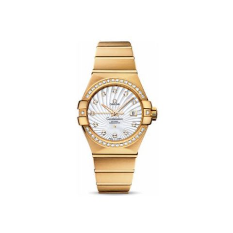 OMEGA CONSTELLATION 18KT YELLOW GOLD 31MM LADIES WATCH