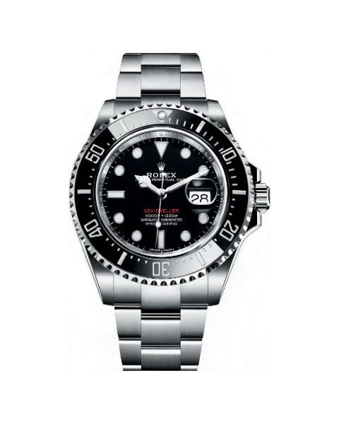 Rolex Pre-owned Sea Dweller Oyster Perpetual Stainless Steel 43mm Men's Watch