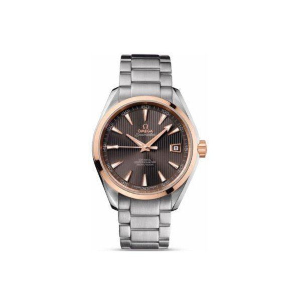 OMEGA SEAMASTER STAINLESS STEEL & 18KT ROSE GOLD 41.5MM UNISEX WATCH