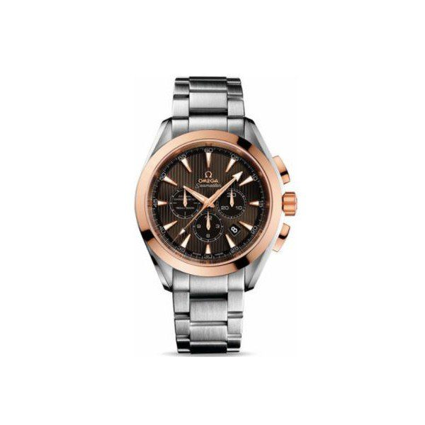 OMEGA SEAMASTER STAINLESS STEEL & 18KT ROSE GOLD 44MM UNISEX WATCH