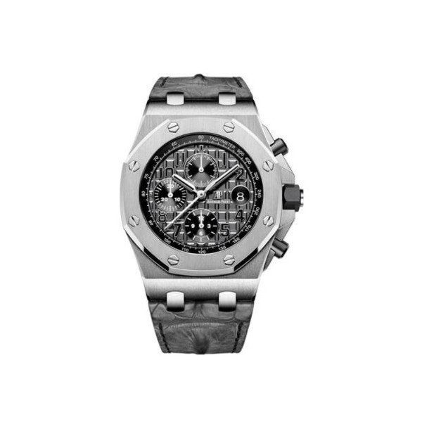 AUDEMARS PIGUET ROYAL OAK STAINLESS STEEL 42MM SLATE GREY DIAL MEN'S WATCH