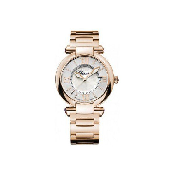 CHOPARD IMPERIALE 18KT ROSE GOLD 36MM LADIES WATCH