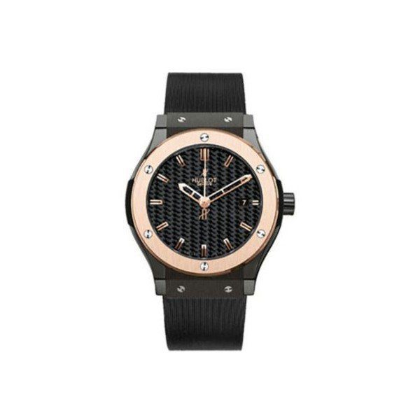 HUBLOT CLASSIC FUSION BLACK CERAMIC 38MM MEN'S WATCH