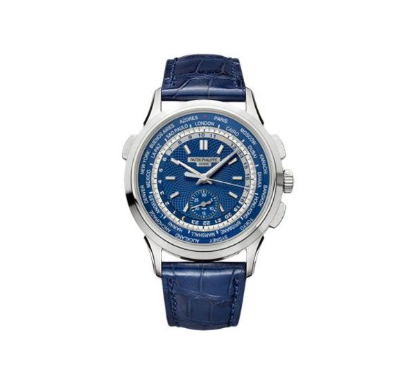 PATEK PHILIPPE COMPLICATIONS 5930G-001 WORLD TIME WHITE GOLD MEN'S WATCH