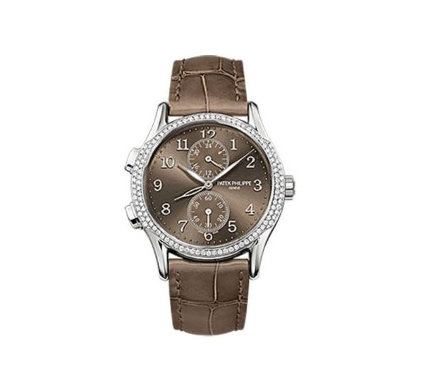 PATEK PHILIPPE COMPLICATIONS 7134G-001 TRAVEL TIME WHITE GOLD LADIES WATCH