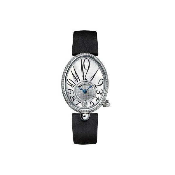 BREGUET REINE DE NAPLES 18KT WHITE GOLD 28MM X 36MM LADIES WATCH