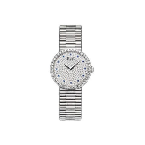 PIAGET TRADITIONAL 18KT WHITE GOLD 26MM LADIES WATCH
