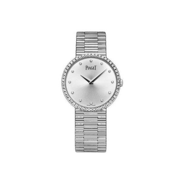 PIAGET TRADITIONAL 18KT WHITE GOLD 34MM LADIES WATCH