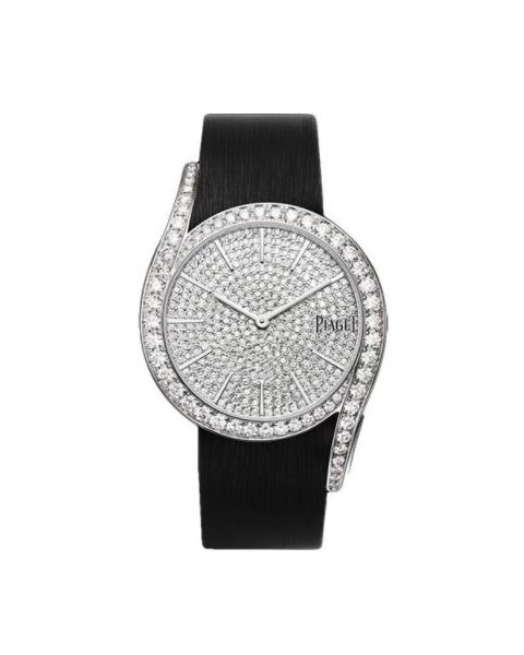 PIAGET LIMELIGHT 18KT WHITE GOLD 38MM LADIES WATCH