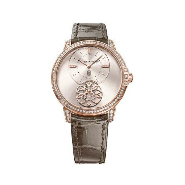 HARRY WINSTON MIDNIGHT 18KT ROSE GOLD 39MM LADIES WATCH