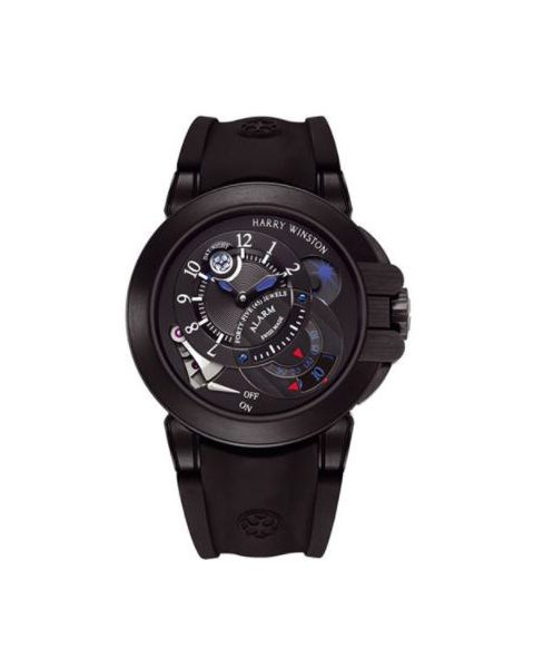 Harry Winston Pre-owned Project Z6 Limited Edition Zalium 44mm Men's Watch