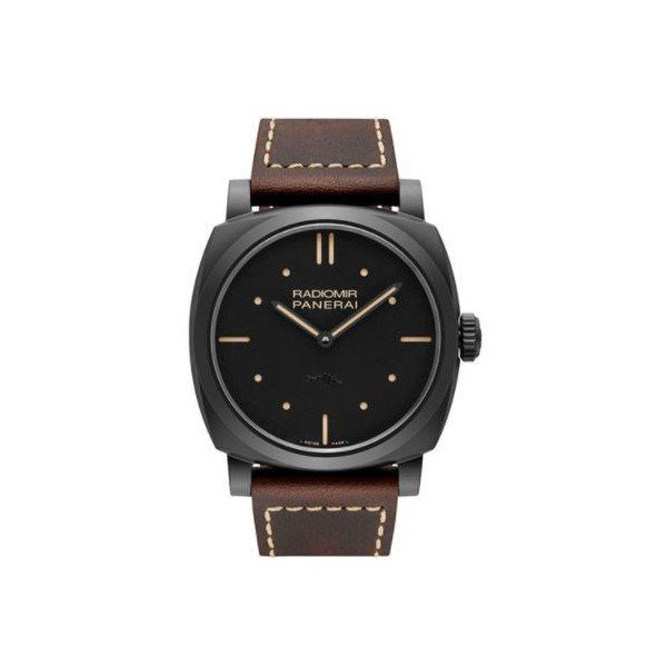 PANERAI RADIOMIR MATTE BLACK CERAMIC 48MM MEN'S WATCH