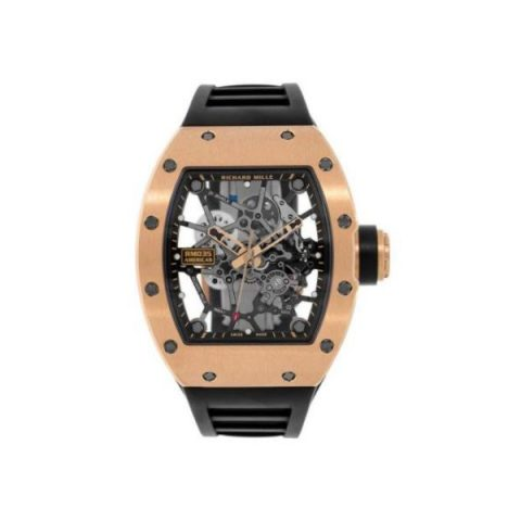 RICHARD MILLE GOLD TORO LIMITED EDITION 18KT ROSE GOLD 48MM X 40MM MEN'S WATCH