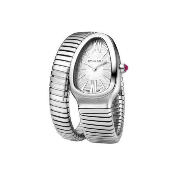 BVLGARI SERPENTI STAINLESS STEEL 35MM LADIES WATCH