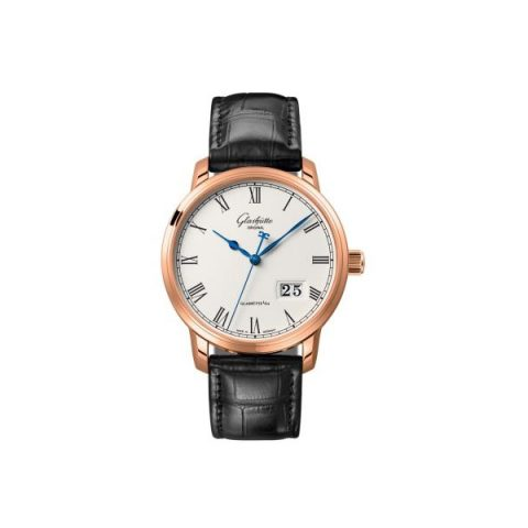 GLASHUTTE ORIGINAL SENATOR 18KT ROSE GOLD 40MM MEN'S WATCH