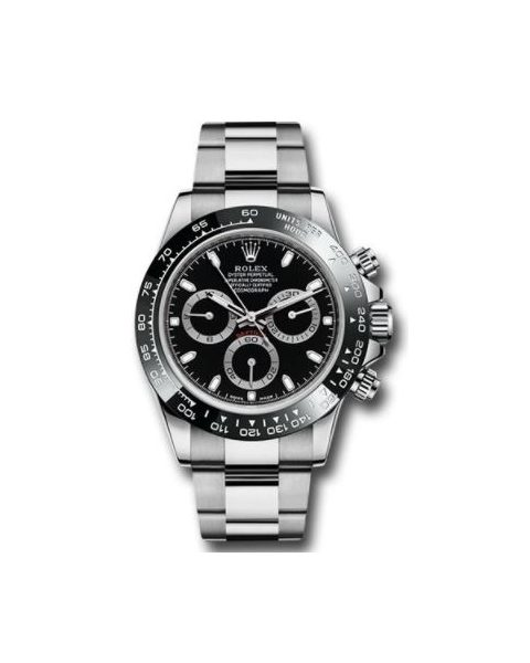 Rolex Pre-owned Professional Daytona Stainless Steel 40mm Men's Watch