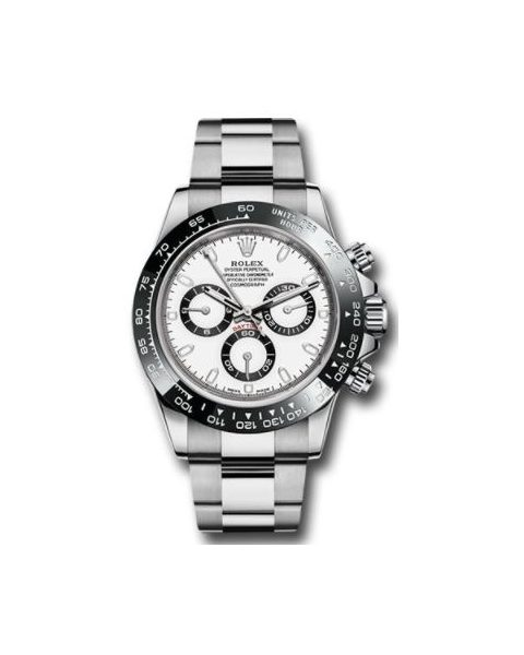 Professional Rolex Pre-owned Daytona Stainless Steel 40mm Men's Watch