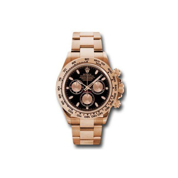 PROFESSIONAL ROLEX DAYTONA 18KT ROSE GOLD 40MM MEN'S WATCH