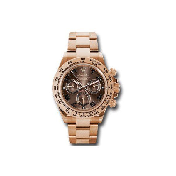 ROLEX DAYTONA 18KT ROSE GOLD 40MM MEN'S WATCH