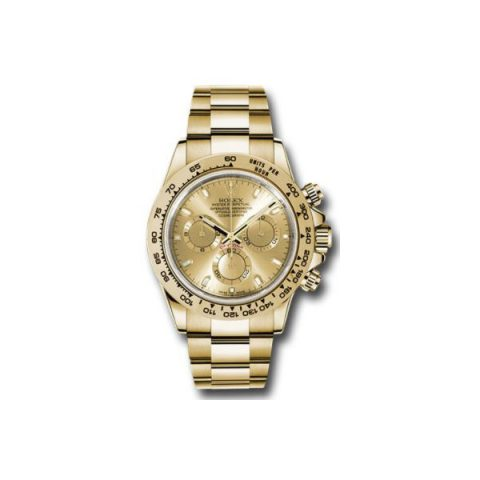 ROLEX DAYTONA 18KT YELLOW GOLD 40MM MEN'S WATCH