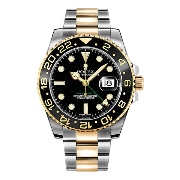 Rolex Pre-owned GMT Master II Oyster Perpetual Date Men's Watch