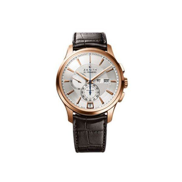 ZENITH EL PRIMERO CAPTAIN WINSOR 18KT ROSE GOLD 42MM MEN'S WATCH