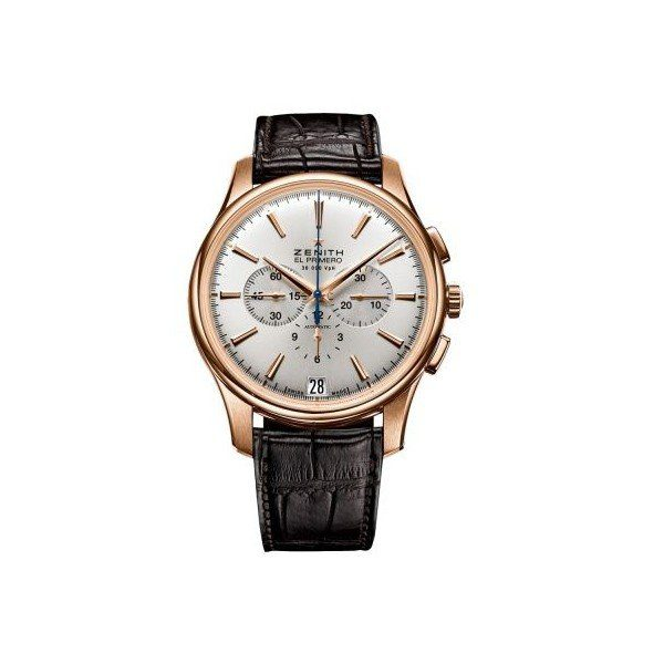 ZENITH CAPTAIN 18KT ROSE GOLD 42MM MEN'S WATCH