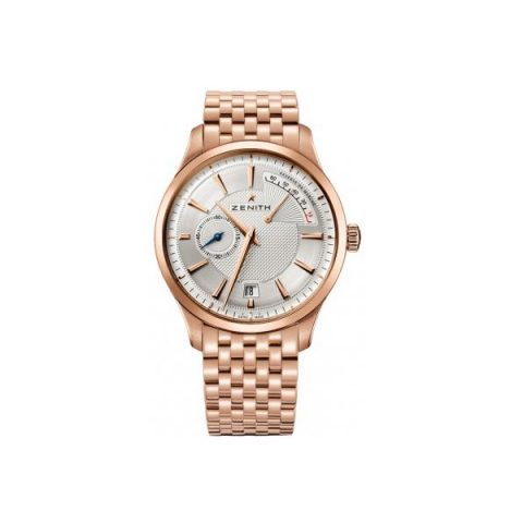 ZENITH CAPTAIN 18KT ROSE GOLD 40MM MEN'S WATCH