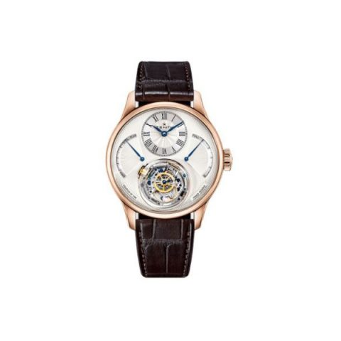 ZENITH CHRISTOPHE COLOMB 18KT ROSE GOLD 45MM MEN'S WATCH