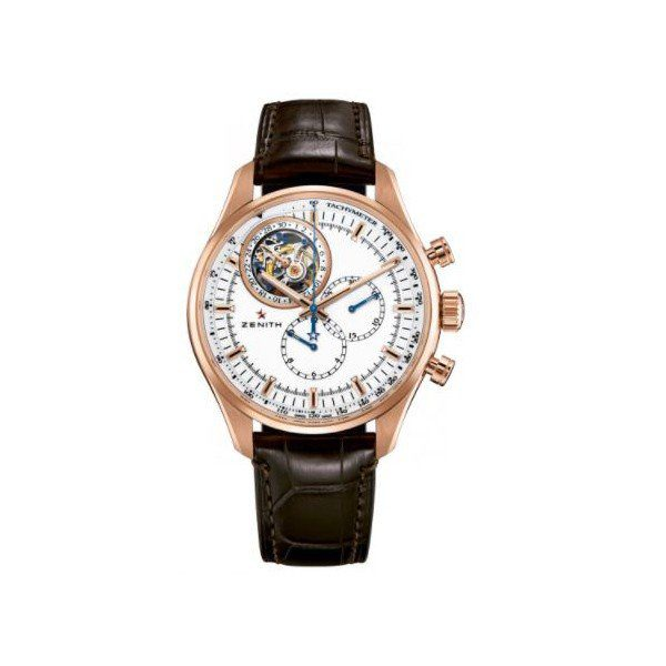 ZENITH EL PRIMERO 18KT ROSE GOLD 46MM MEN'S WATCH