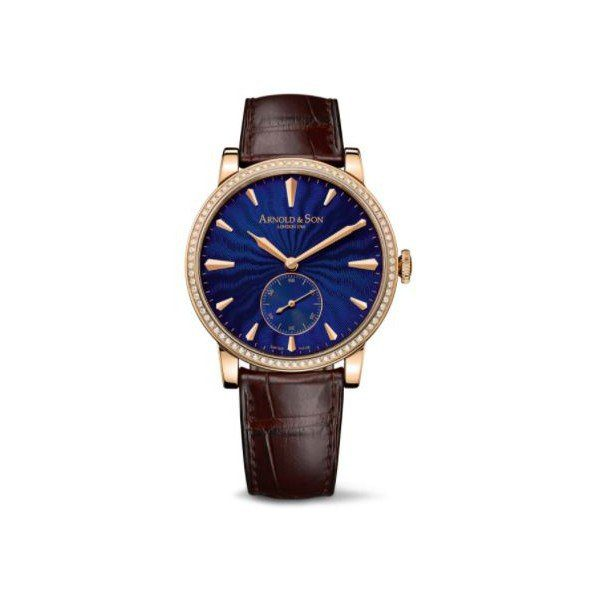 ARNOLD & SON HMS1 18KT ROSE GOLD 40MM MEN'S WATCH