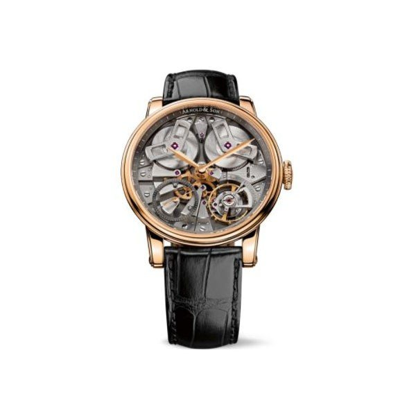 ARNOLD & SON TB88 18KT ROSE GOLD 46MM MEN'S WATCH