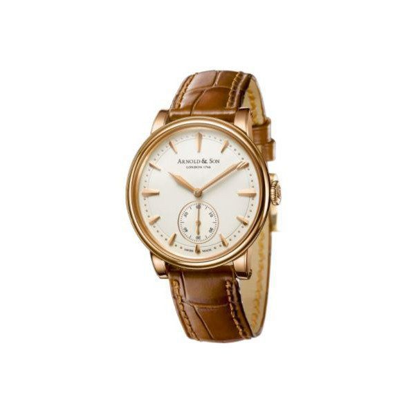 ARNOLD & SON HMS LIMITED EDITION OF 100PCS 18KT ROSE GOLD 34MM LADIES WATCH