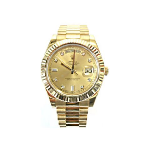 ROLEX DAY DATE 18KT YELLOW GOLD 41MM MEN'S WATCH