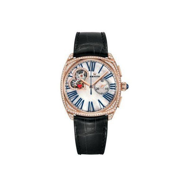 ZENITH STAR 18KT ROSE GOLD 37MM LADIES WATCH