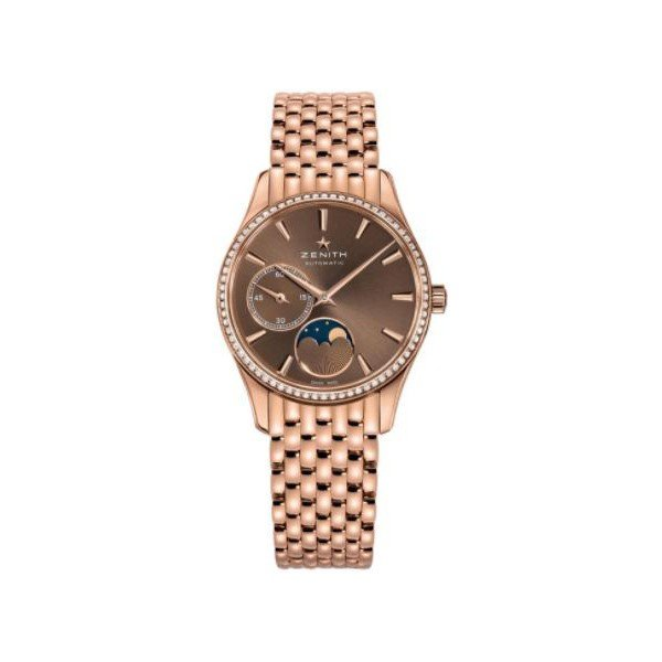 ZENITH ULTRA THIN 18KT ROSE GOLD 33MM LADIES WATCH