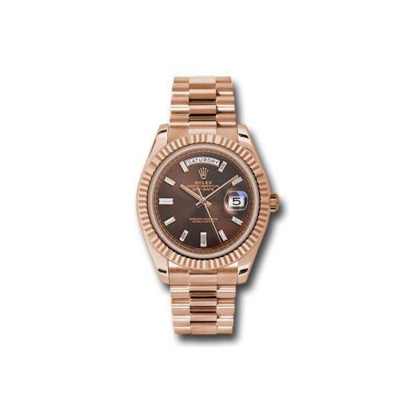ROLEX DAY DATE 18KT ROSE GOLD 40MM MEN'S WATCH