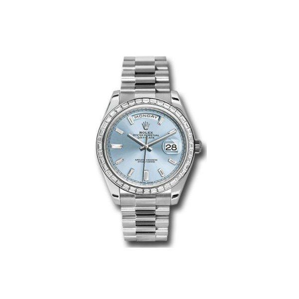 ROLEX DAY DATE PLATINUM 40MM MEN'S WATCH