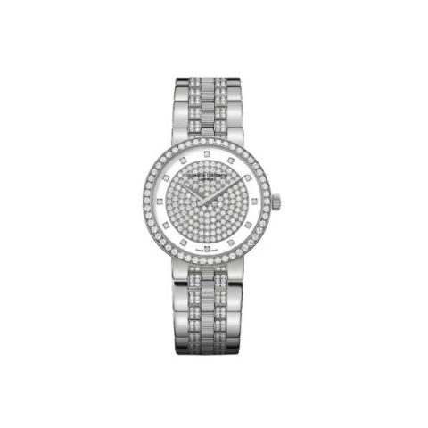 VACHERON CONSTANTIN TRADITIONNELLE 18KT WHITE GOLD 30MM LADIES WATCH