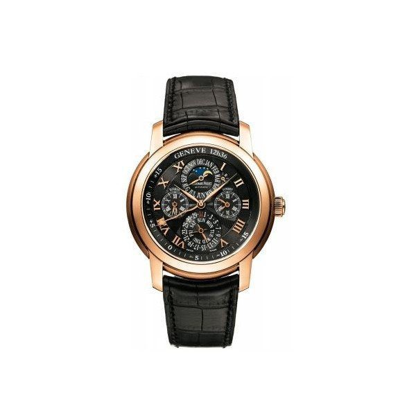 AUDEMARS PIGUET JULES AUDEMARS EQUATION OF TIME 18KT ROSE GOLD 43MM BLACK DIAL MEN'S WATCH