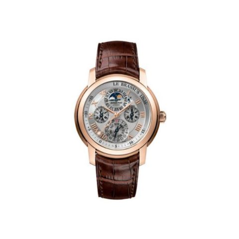 AUDEMARS PIGUET JULES AUDEMARS EQUATION OF TIME 18KT ROSE GOLD 43MM SILVER DIAL MEN'S WATCH