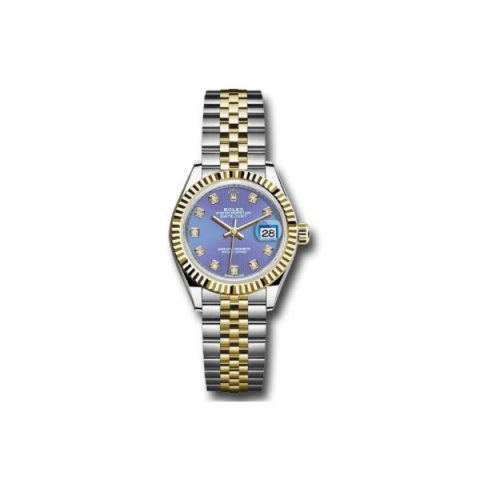 ROLEX DATEJUST 18KT YELLOW GOLD 28MM LADIES WATCH
