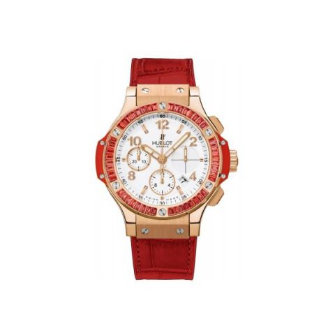 HUBLOT BIG BANG TUTTI FRUTTI 18KT ROSE GOLD 41MM LADIES WATCH