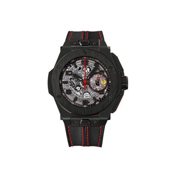 HUBLOT BIG BANG FERRARI BLACK CERAMIC CASE LIMITED EDITION OF 1000 PCS 45.5 MM MEN'S WATCH