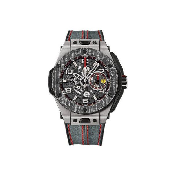 HUBLOT BIG BANG FERRARI TITANIUM 45MM LIMITED EDITION OF 1000 PCS MEN'S WATCH